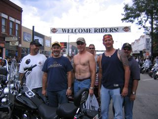 Group in Sturgis