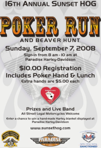 Sunset HOG Poker Run