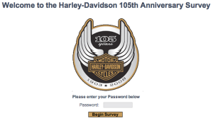 Harley-Davidson Survey