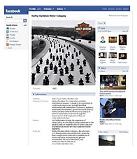 Harley Facebook Page