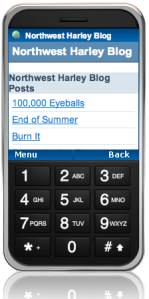 NWHog Mobile Version