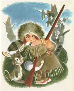 Gustaf Tenggren's -- The Little Trapper