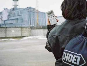 Elena at Chernobyl