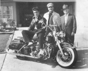 Elvis Presley - 1957 Harley-Davidson FLH