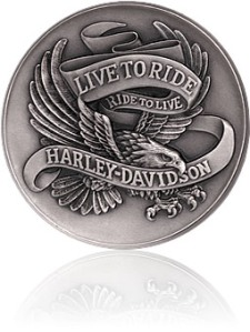 Harley Challenge Coins