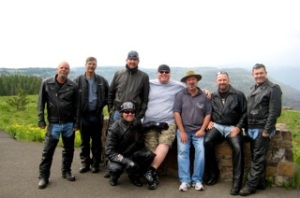 """Posse"" at Hells Canyon Lookout"