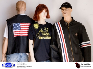 """Kerr Leather """"Captain America"""" Clothing"""