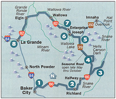 Hells Canyon Scenic Byway Northwest Harley Blog