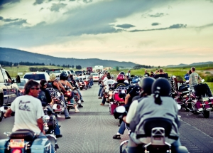 Semi-Truck Fire closes I-90 at Sturgis Rally - 2010