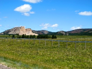 Crazy Horse Mountain Monument