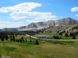 Highway 130 - Medicine Bow National Forest.