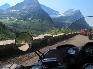 Riding the Going To The Sun Road - Glacier National Park