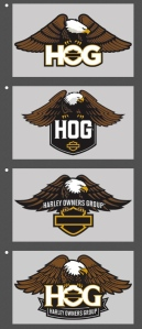 New H.O.G. Logo Selection