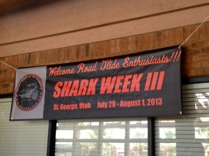 Arrived at Shark Week III