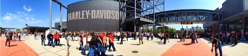 Pano of the H-D Museum