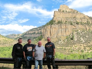 The Posse at Ten Sleep Canyon