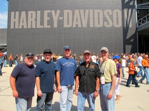 Group at the H-D Museum