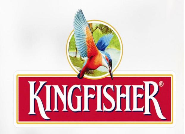 Kingfisher premium logo