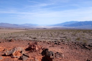 Death Valley looking at Furnace Creek