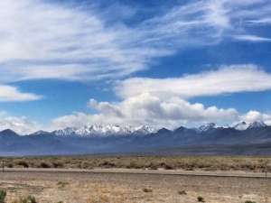 Eastern Sierra NV Mountains