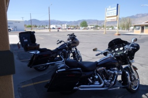 Parked at Motel - Hawthorne, NV
