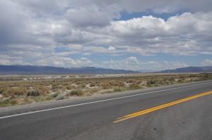 """America's Patriotic Home"" — Hawthorne, Nevada."