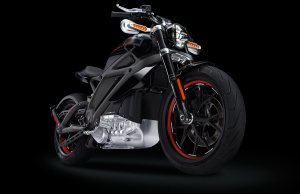 Project LiveWire - Electric Motorcycle By H-D