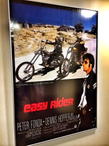 Easy Rider Poster at Sunset Gower Studio