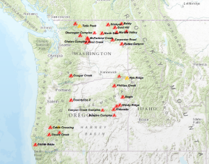 Wildfires In Oregon and Washington State