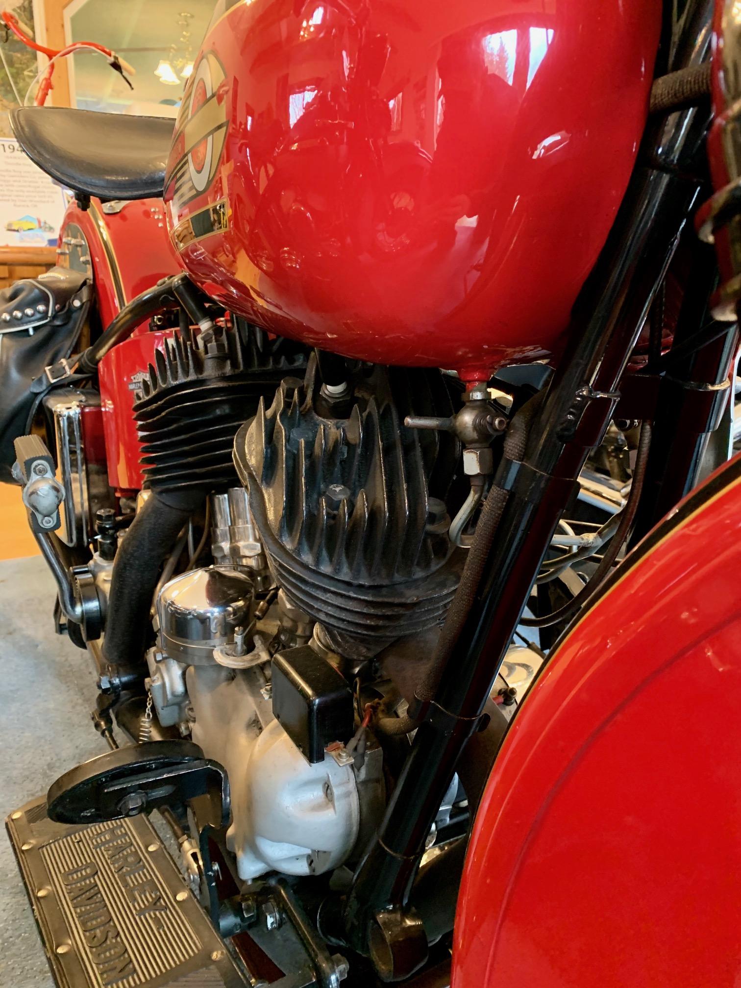 GAS LINE for 1937-1938 Harley UL /& ULH Model Gas Tanks